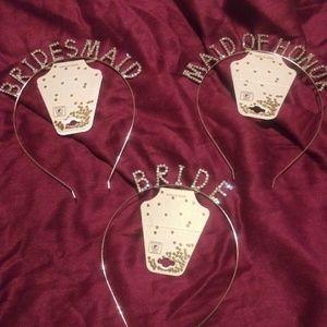 Brides Besties Bling  Headbands ( new)